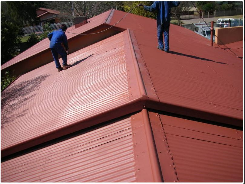 Roof Painting in Rosebank